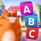 🔥⭐Kitty Scramble: Word Stacks icon