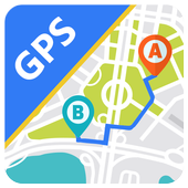GPS Navigation Maps Directions - Route Planner icon