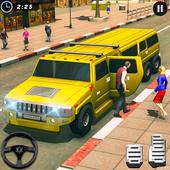 Big City Limo Car Driving Simulator : Taxi Driving icon