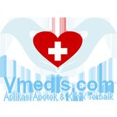 Aplikasi Apotek Dan Klinik VMEDIS icon