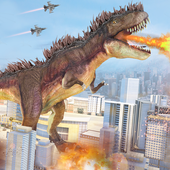 Extreme City Dinosaur Smasher 3D Rampage  2020 icon