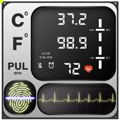 Body Temperature Thermometer icon