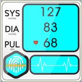 Blood Pressure Diary : BP Checker Logger Tracker icon