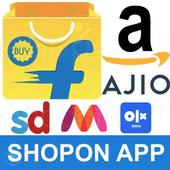 Online Shopping App: Free Offer, India Shop Online icon