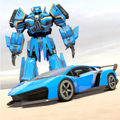 Grand Robot Car Transform War : Police Robot Games icon
