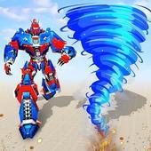 Hurricane Tornado Robot Transforming - Robot Game icon
