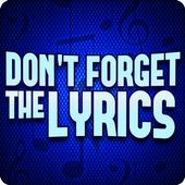 Don't Forget the Lyrics icon