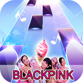 Ice Cream - BLACKPINK Piano Tiles KPOP icon