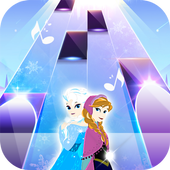 Piano Tiles Elsa Game - Let It Go icon