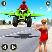 Flying ATV Bike Taxi Simulator: Flying Bike Games icon