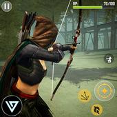 Ninja Archer Assassin FPS Shooter: 3D Offline Game icon