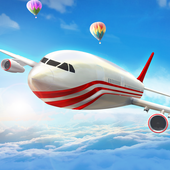 Modern Airplane Pilot Flight Sim - New Plane Games icon