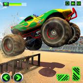 Monster Truck Crash New Demolition Derby Stunts icon
