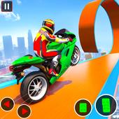 GT Bike Stunt Racing : Mega Ramp Impossible Stunts icon