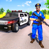 Grand Police Prado Jeep Car Gangster Chase icon