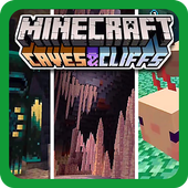 Mod Caves and Cliffs for MCPE icon