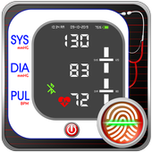 Blood Pressure Diary : BP Tracker Checker Logger icon