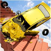 Beam Drive Crash Death Stair Car Crash Simulator icon