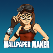 Wallpapers Maker for Battle Royale: All skins icon