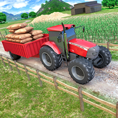 Tractor Trolley Parking Drive - Drive Parking Game icon