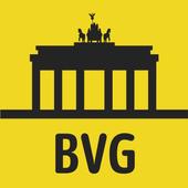 BVG Fahrinfo: Bus, Train, Subway & City Map Berlin icon