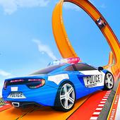 Police Ramp Car Stunts GT Racing Car Stunts Game icon