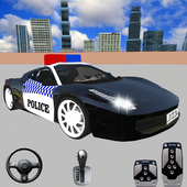 Spooky Police Car Parking Games - Car Games 2020 icon