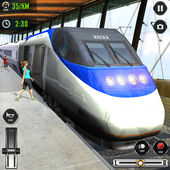 Train Driving Simulator 2020: New Train Games icon