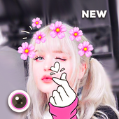 Filter for Selfie : Sweet Snap Live Filter icon