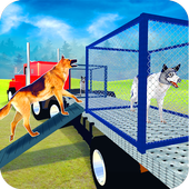 Multistorey US Police Dog Transport icon