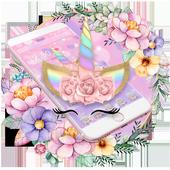 Theme Flower Unicorn icon