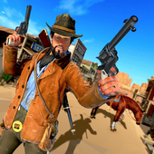 Western Cowboy Gunfighter - Cowboy Shooting Game icon