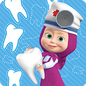 Masha and the Bear: Free Dentist Games for Kids icon