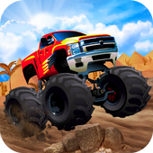 Mega Ramp Monster Truck Racing Games icon