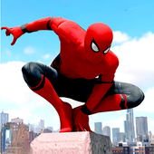 Mutant Spider Hero: Miami Rope hero Game icon
