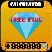 Diamond💎Calculator for FreeFire icon