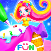 Lolly Dolls Cake Maker–Chibi Dolls Dress Up Game icon