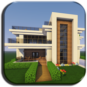 New Modern House for Mine✿✿✿craft - 500 Top Design icon