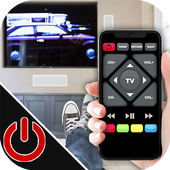 Professional remote for TV prank icon