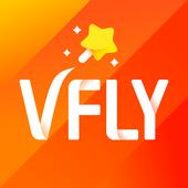 tik tok video editor, video editing app - VFly icon