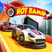 Hot Ramp Car Stunt Game: Free Car Game 2020 icon