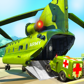 US Army Ambulance Driving Game : Transport Games icon
