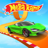 Mega Ramp Hot Car Jumping Race Off Stunt Game 2020 icon