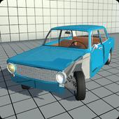 Simple Car Crash Physics Simulator Demo icon