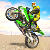 City Bike Driving Simulator-Real Motorcycle Driver icon