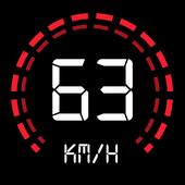 GPS Speedometer: Speed Tracker, Odometer icon