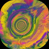 Colorful Fluids Live Wallpaper icon