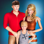 New Virtual Mom Happy Family 2020:Mother Simulator icon