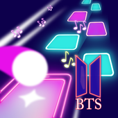 BTS Hop-Tiles Hop KPOP Music Game icon