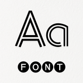 Font Keyboard icon